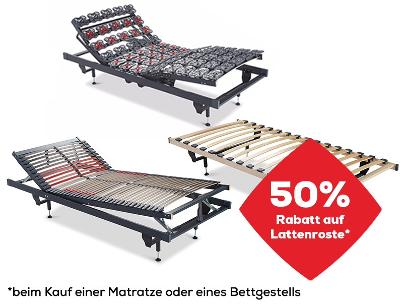 Lattenroste Aktionen | Swiss Sense