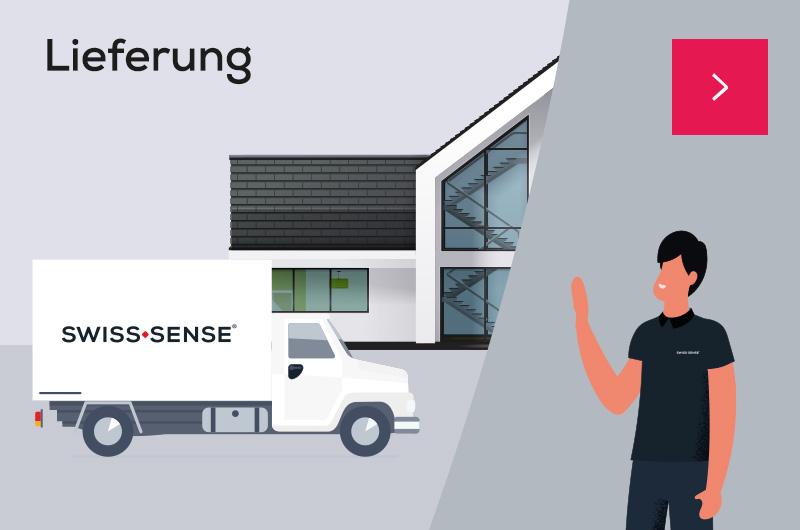 Lieferung  Swiss Sense