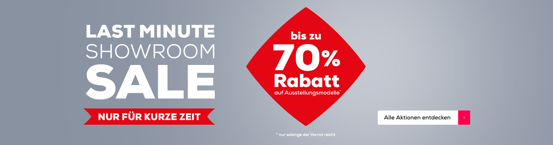 Last minute showroom sale | Swiss Sense