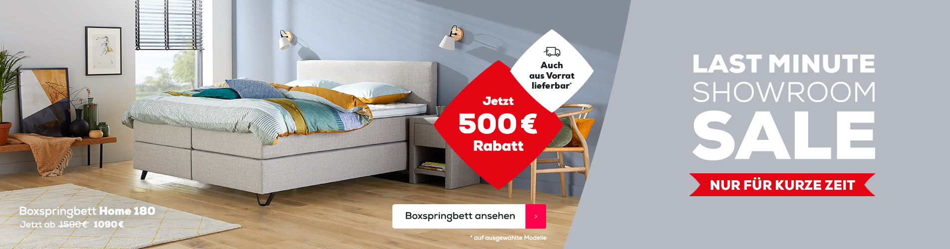 Boxspringbett Home 365 - LMSS | Swiss Sense