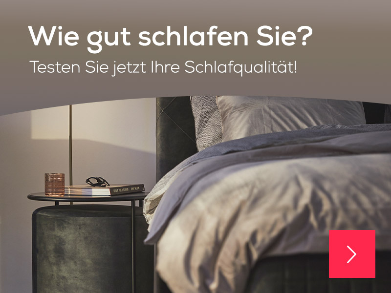 Wie gut schlafen Sie?   Swiss Sense