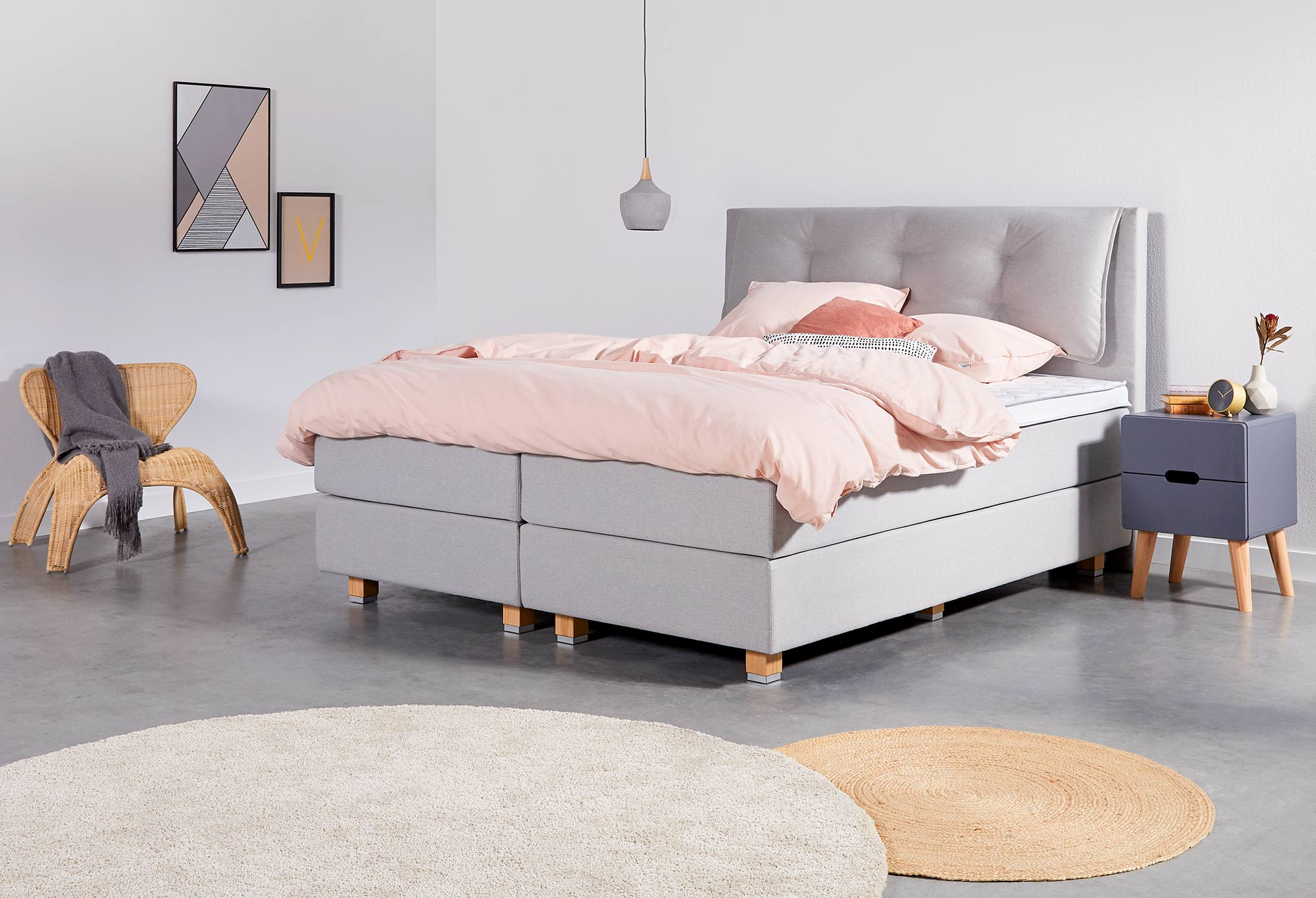 Boxspringbett Web-Only Relax Deluxe | Swiss Sense