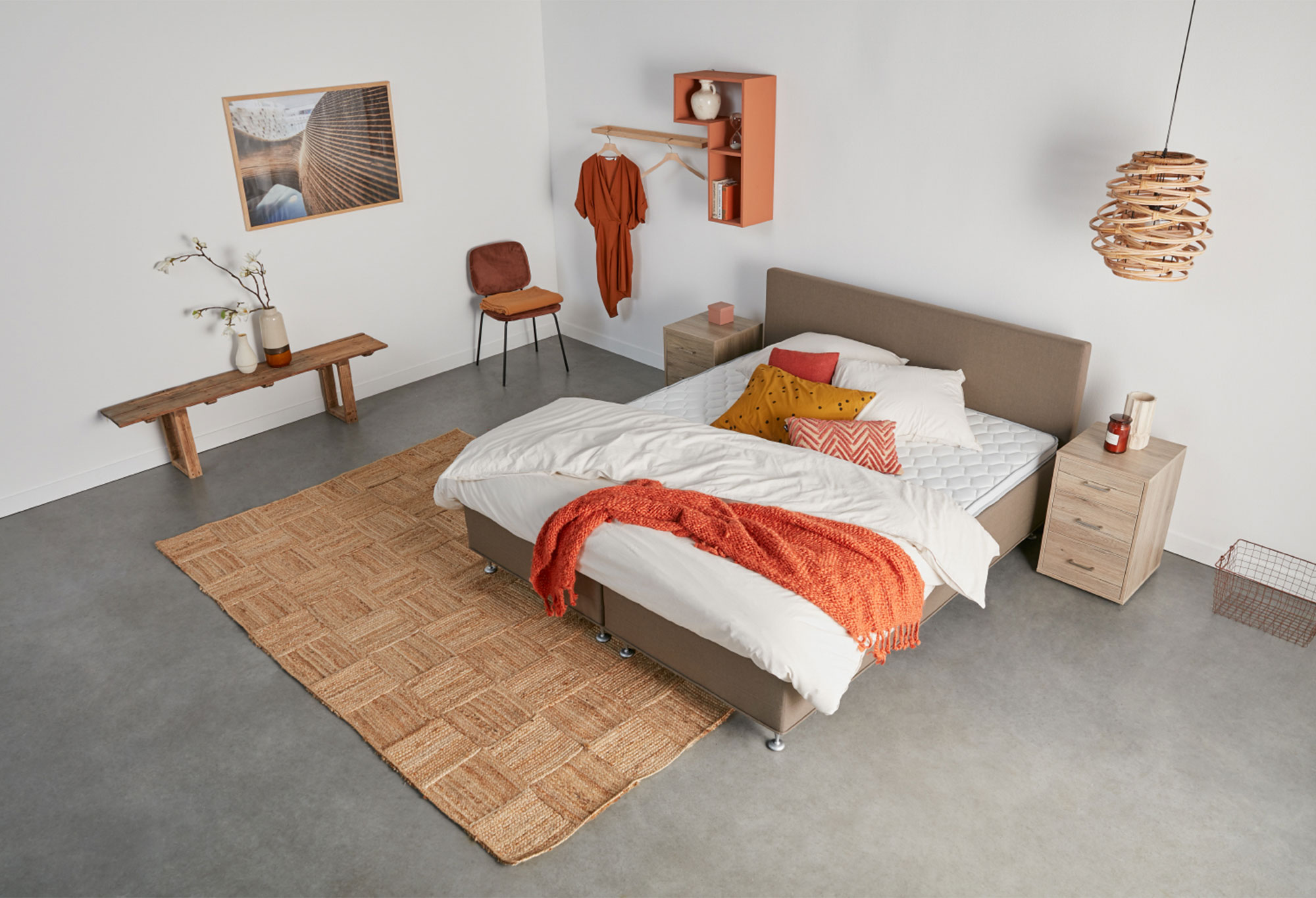 Boxspringbett Web-Only Rest Deluxe | Swiss Sense