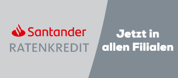 Santander Ratenkredit | Filialen | Swiss Sense