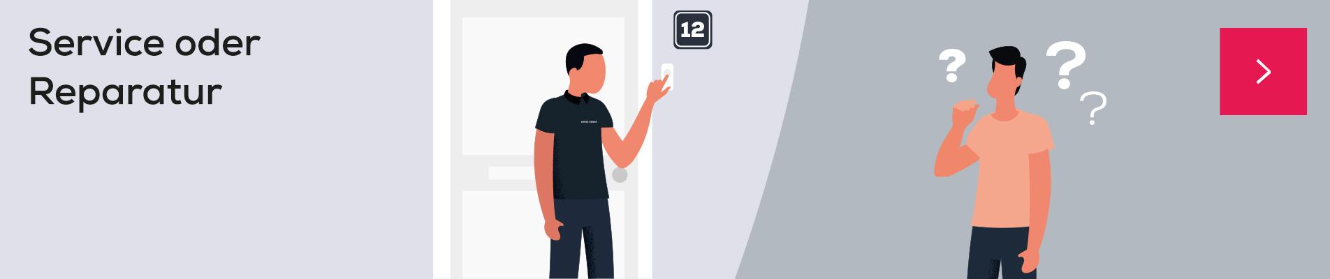 Service oder Reparatur | Swiss Sense