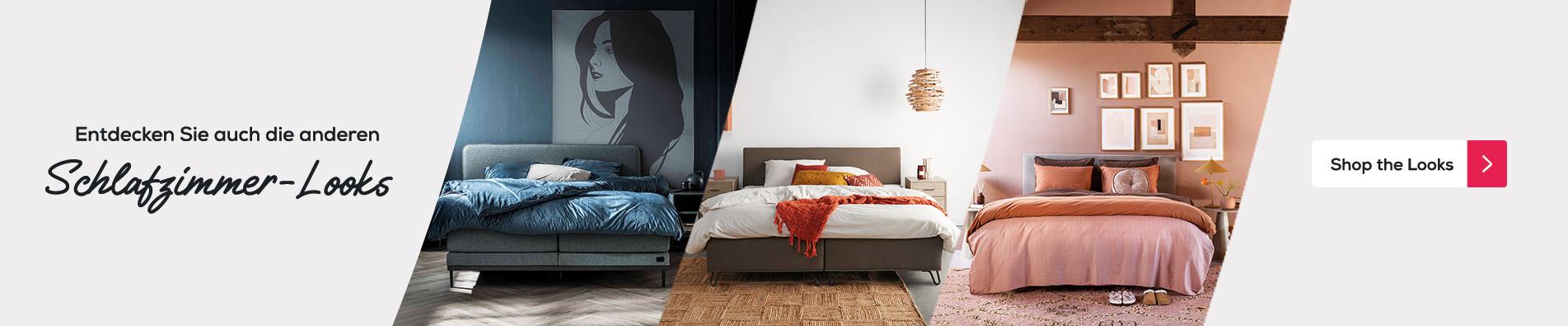 Entdecken Sie auch die anderen Schlafzimmer-Looks