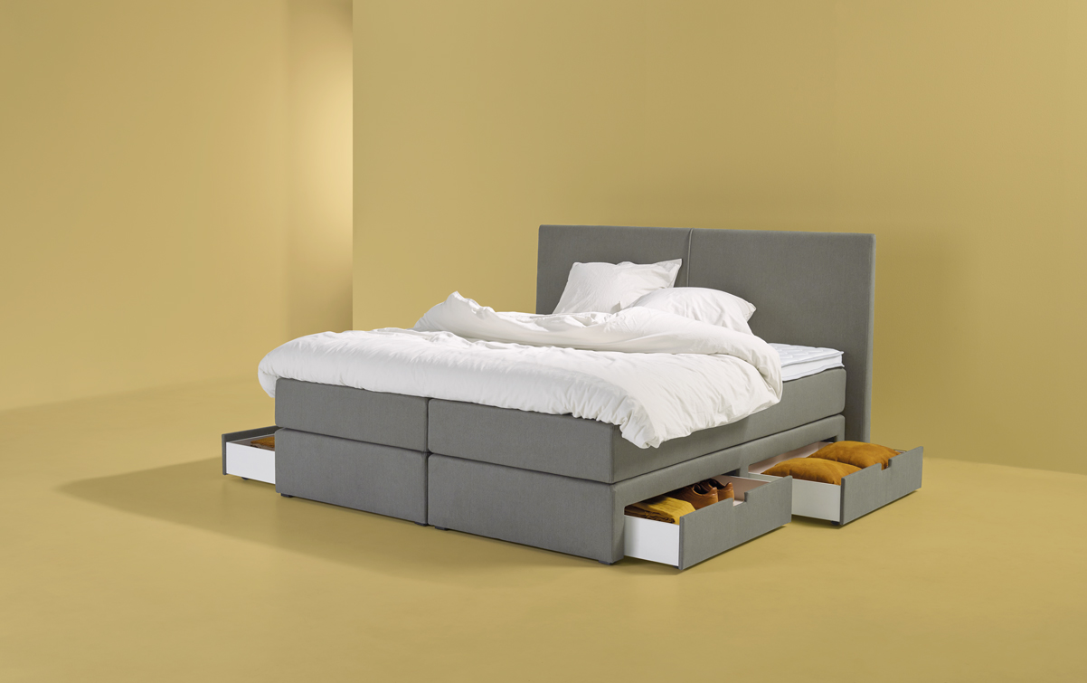 boxspringbett smart storage 03 swiss sense. Black Bedroom Furniture Sets. Home Design Ideas