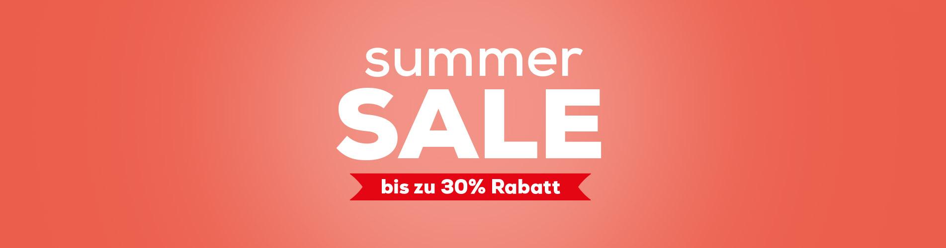 Summer Sale bei Swiss Sense |Bis zu 30% Rabatt