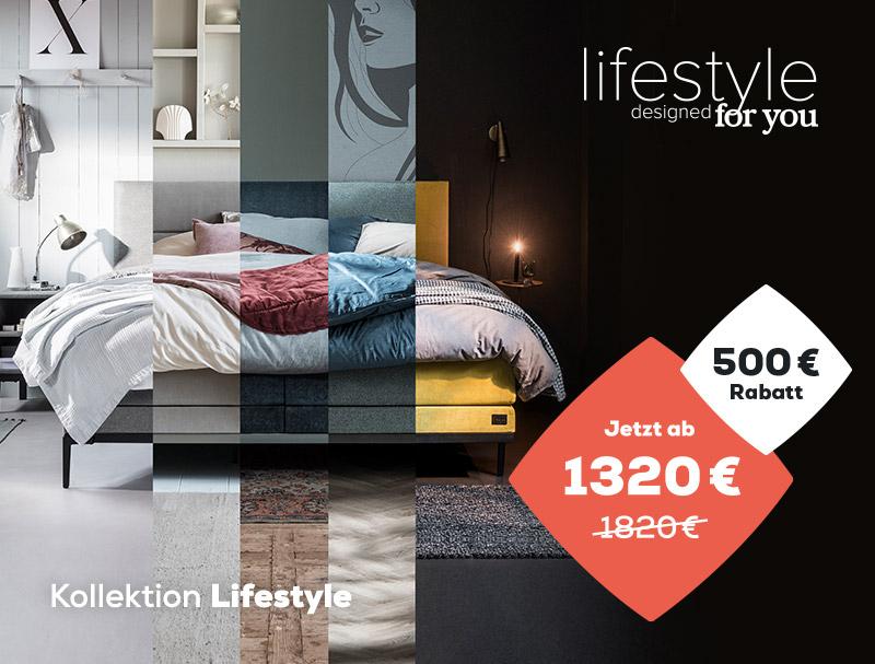 500 € Rabatt auf die Lifestyle Kollektion während des Summer Sales | Swiss Sense