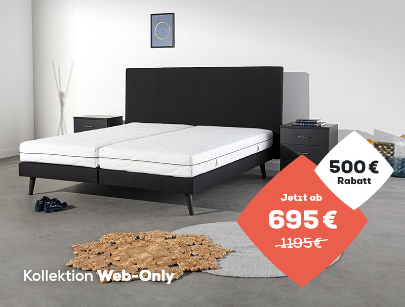 Boxspringbetten Web-Only Kollektion - Summer Sale | Swiss Sense