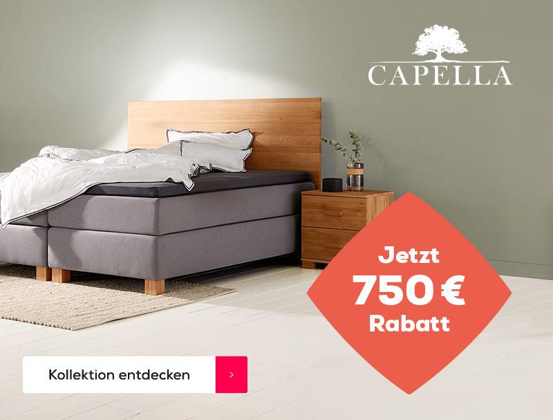 Capella Boxspringbetten - Summer Sale | Swiss Sense