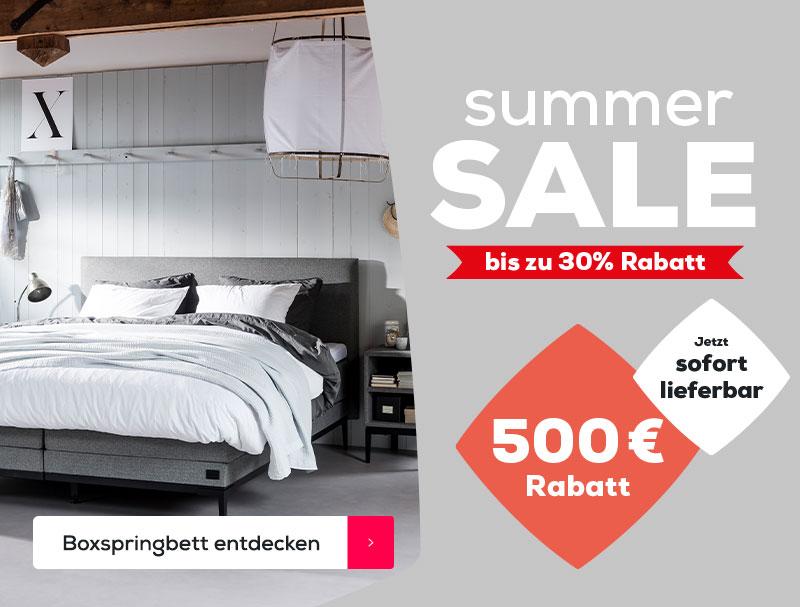 Boxspringbett Lifestyle Thyme | Swiss Sense