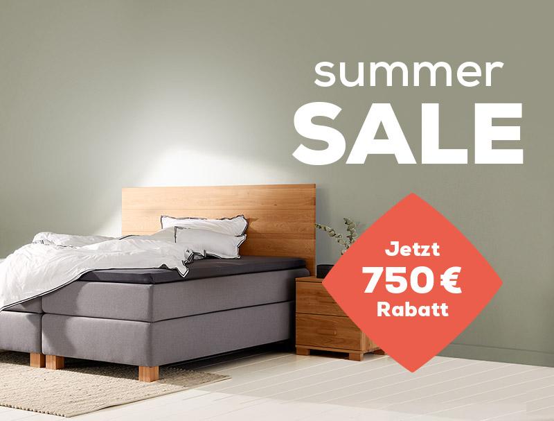 Boxspringbetten Capella - Summer Sale | Swiss Sense
