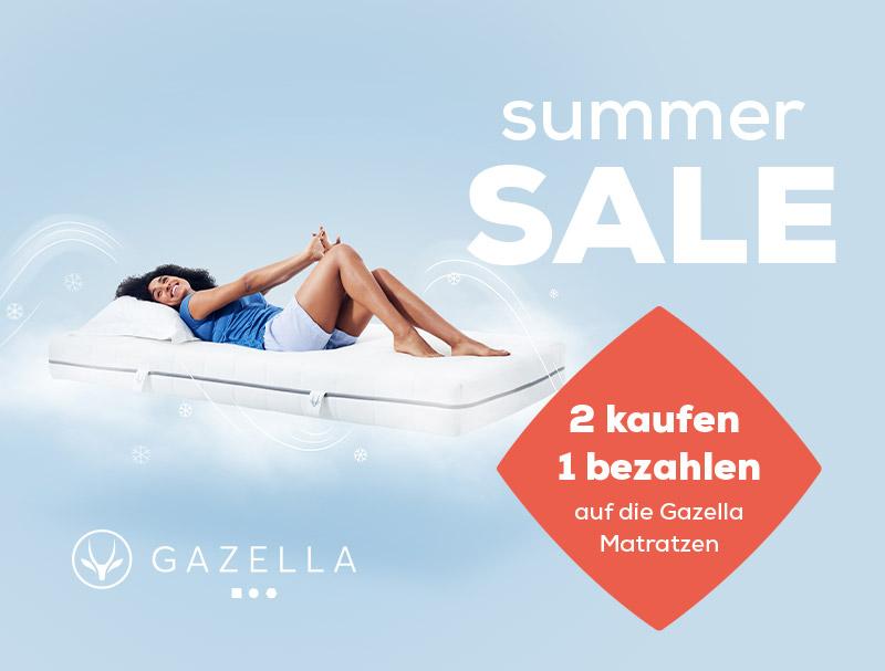 Gazella Matratzen - Summer Sale | Swiss Sense