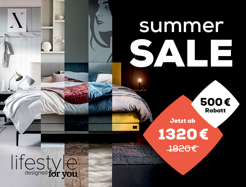 Boxspringbetten Lifestyle - Summer Sale | Swiss Sense
