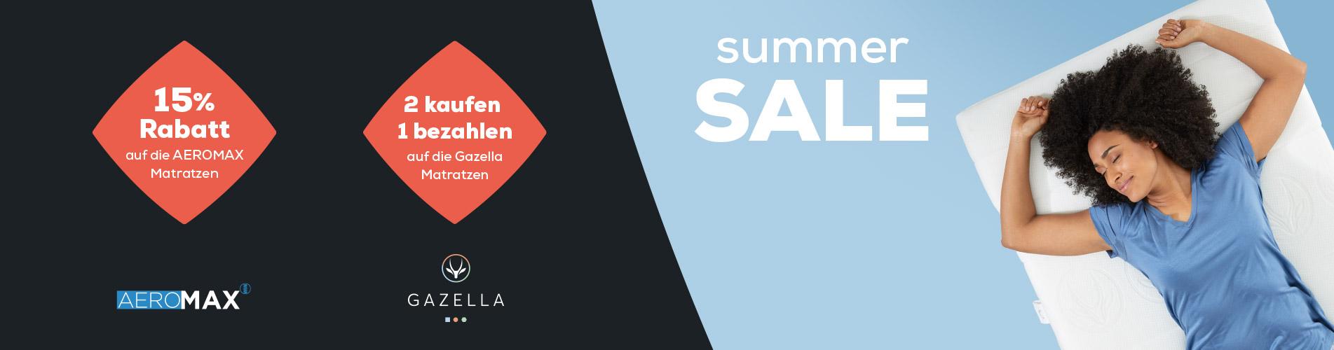 Matratzen kollektion - Summer Sale | Swiss Sense