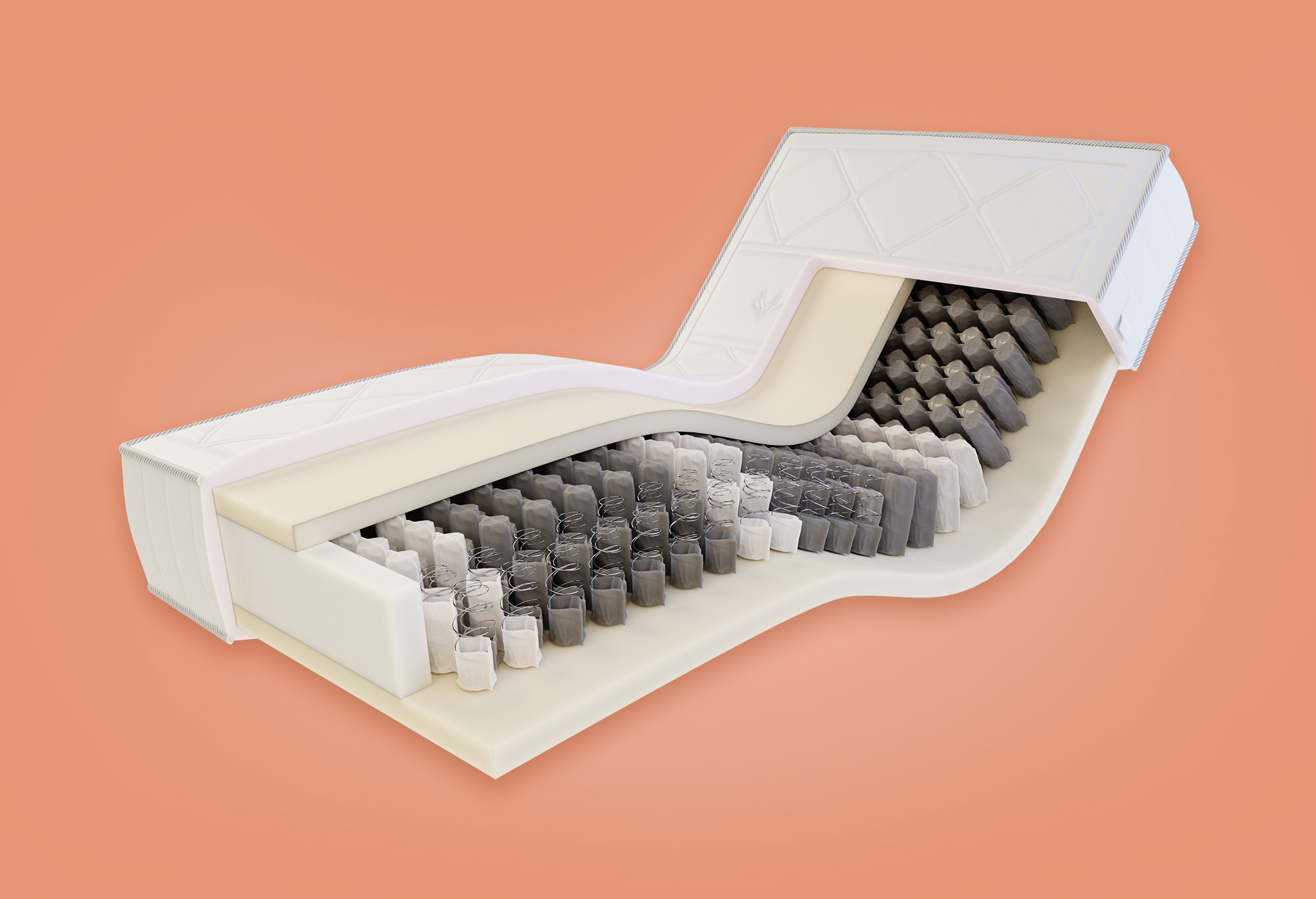 Gazella Support III Tonnentaschen-Federkernmatratze | Swiss Sense