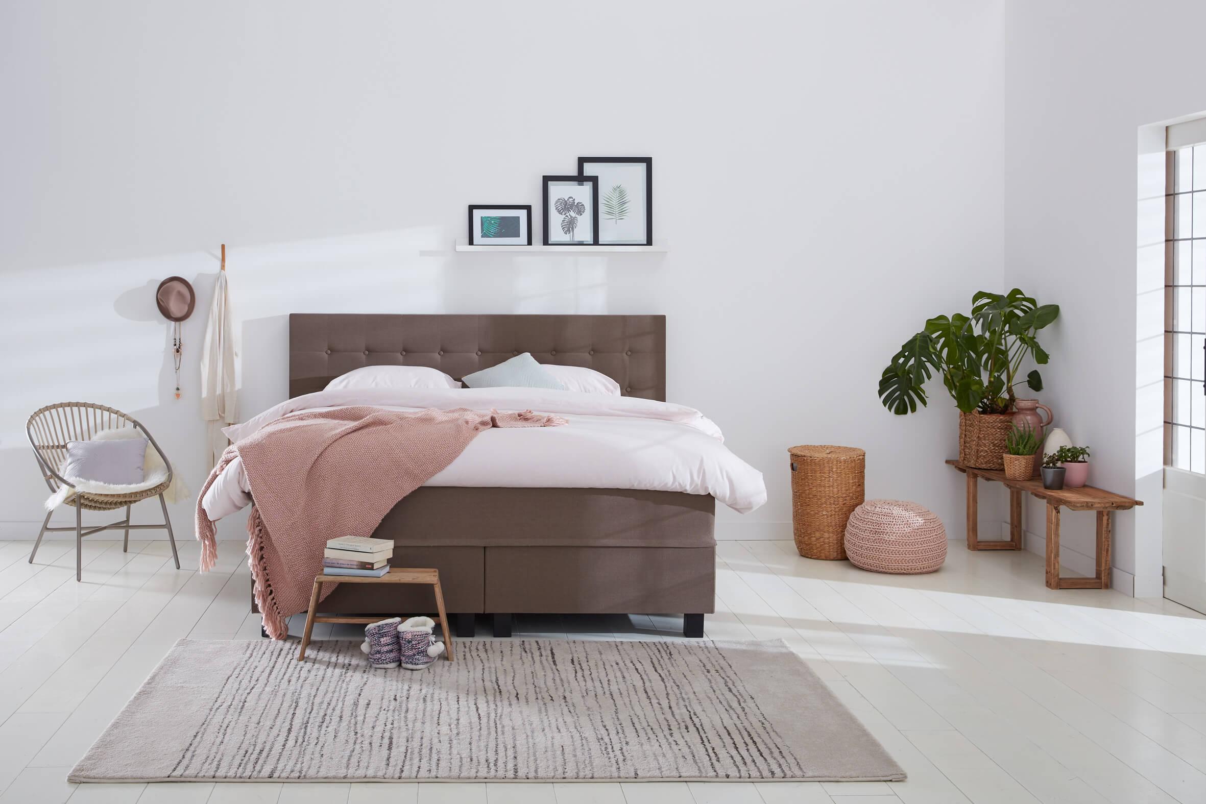 boxspringbett home 195 swiss sense. Black Bedroom Furniture Sets. Home Design Ideas