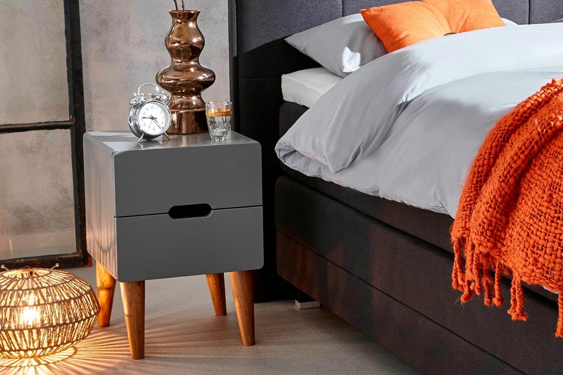 3 Nachtschränkchen um Ihr Schlafzimmer zu stylen | Swiss Sense