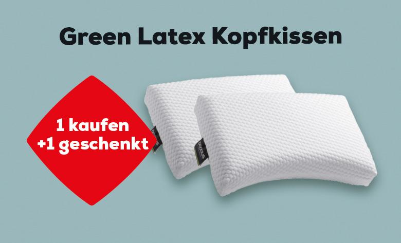 Green Latex Kopfkissen 1 kaufen + 1 geschenkt | Swiss Sense