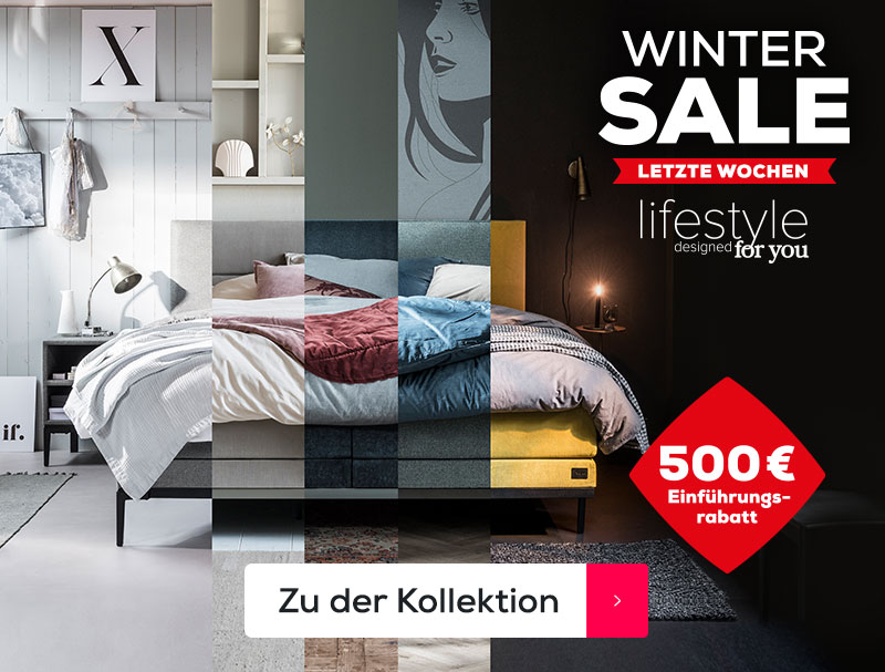 Lifestyle designed for you Kollektion letzte Wochen | Swiss Sense