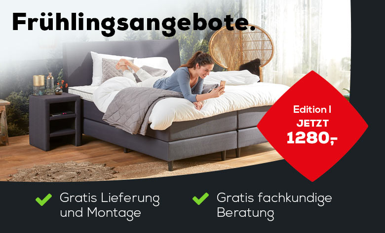 boxspringbett kaufen swiss sense kostenlose montage. Black Bedroom Furniture Sets. Home Design Ideas