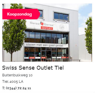 Swiss Sense Boxspringbetten Outlet Tiel