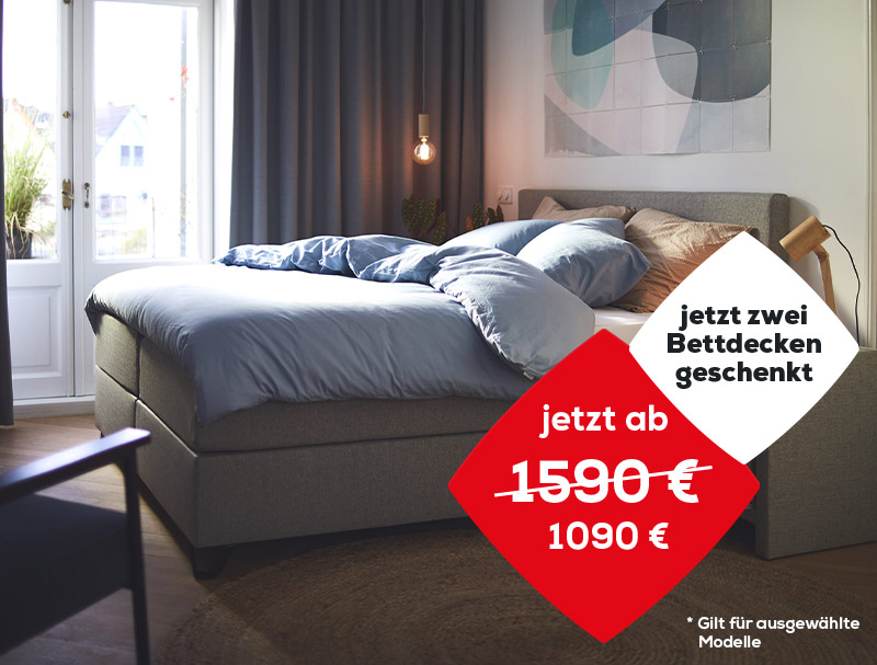 Boxspringbetten Aktionen | Swiss Sense