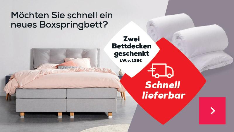 Homepage header - Ein Boxspringbett das zu mir passt | Swiss Sense