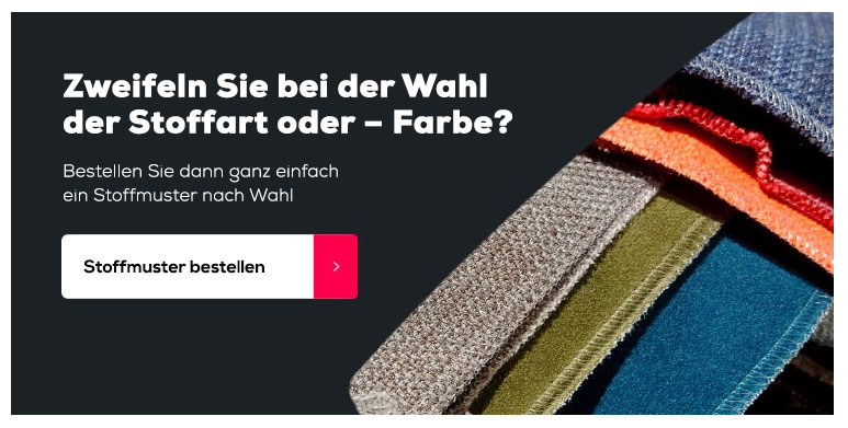 Stoffmuster bestellen | Swiss Sense