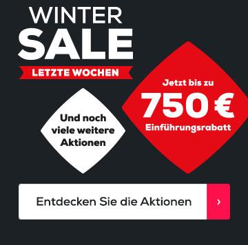 Winter Sale letzte Wochen | Swiss Sense