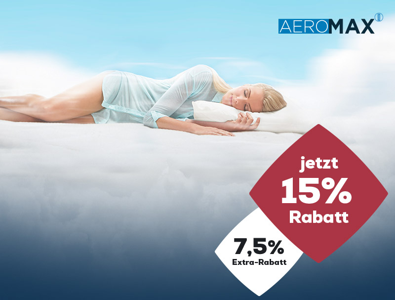 AEROMAX Matratzen Aktionen Winter Sale | Swiss Sense