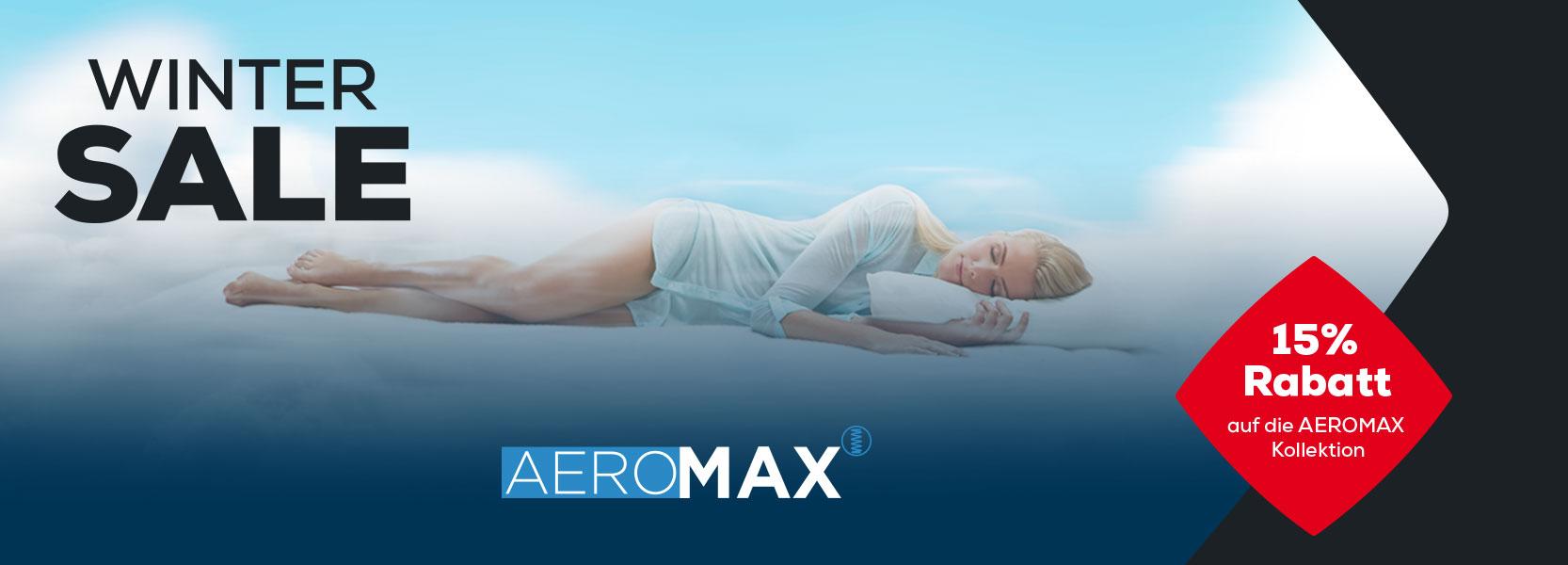 AEROMAX Matratzen | Swiss Sense