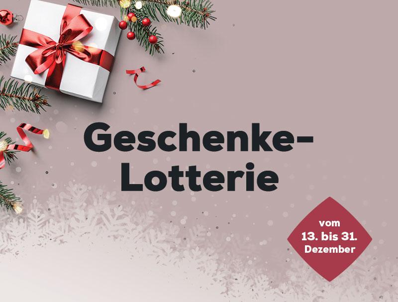 Geschenke-Lotterie | Swiss Sense