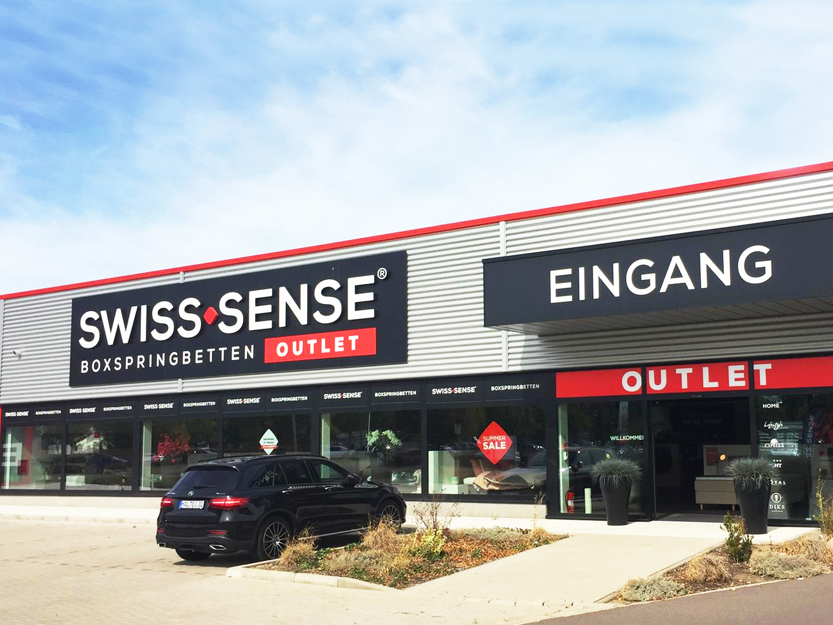 Swiss Sense Matras : Boxspringbetten und textilien in outlet halle swiss sense