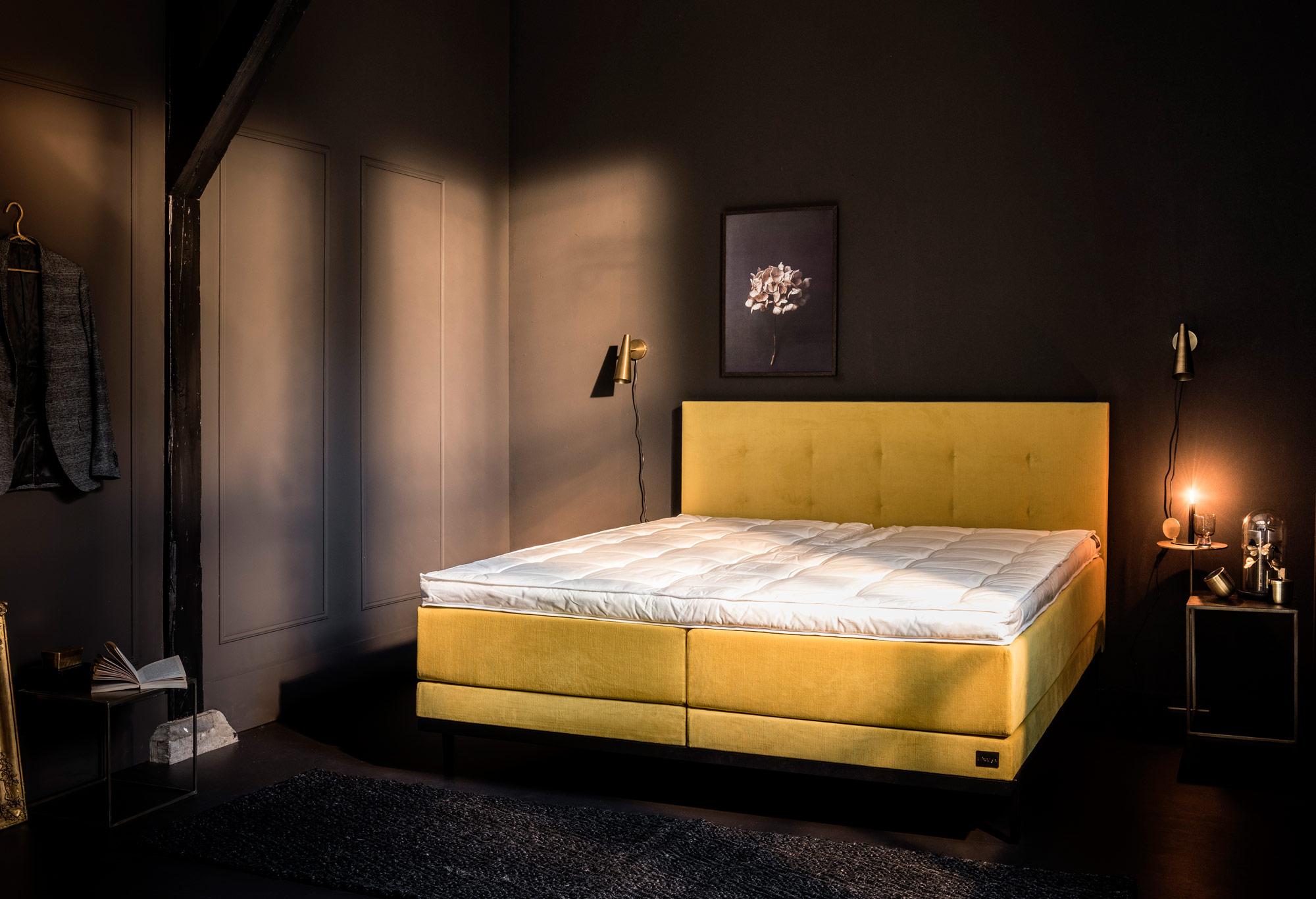 boxspringbett lifestyle ginger swiss sense. Black Bedroom Furniture Sets. Home Design Ideas