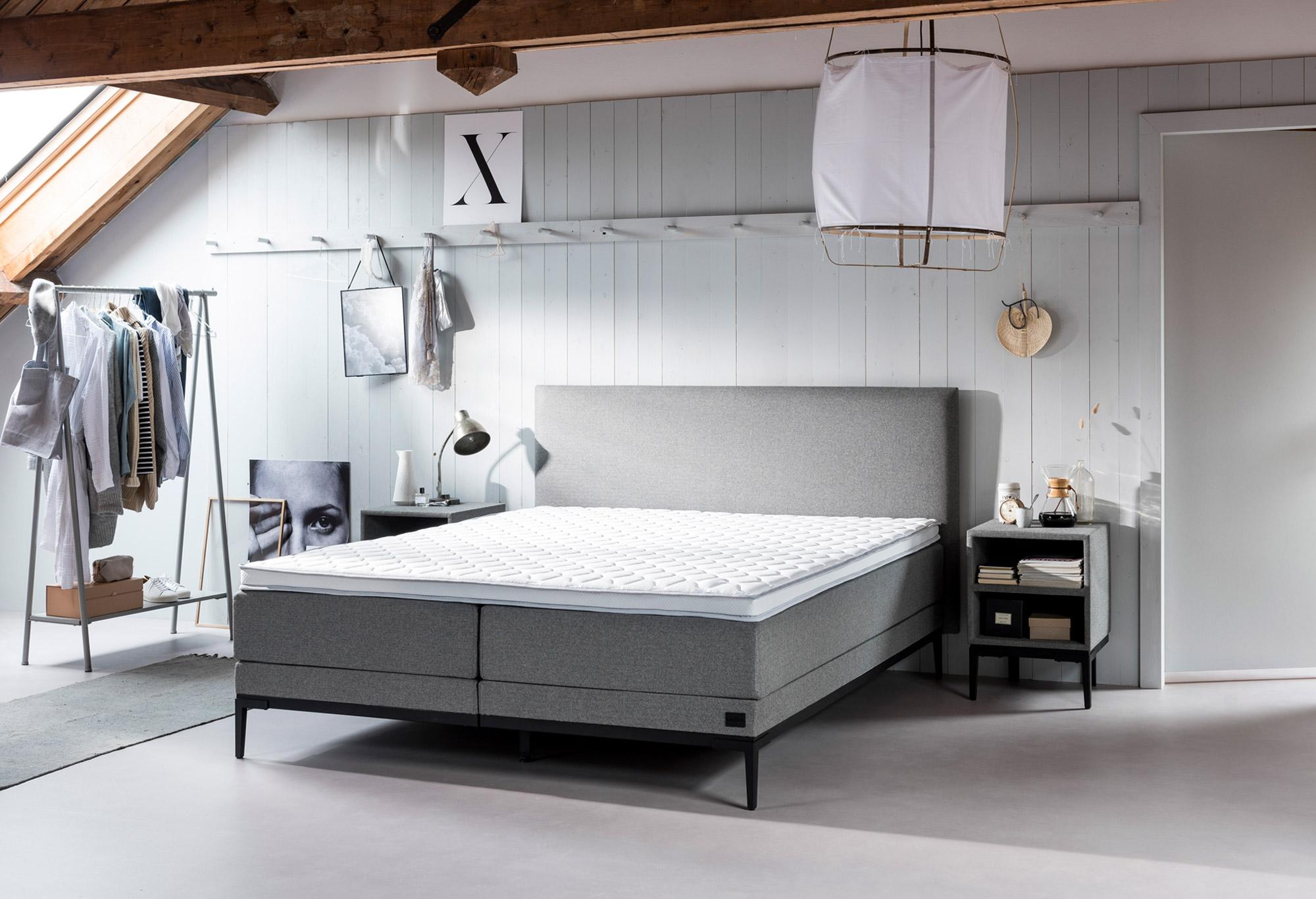 boxspringbett lifestyle thyme swiss sense. Black Bedroom Furniture Sets. Home Design Ideas